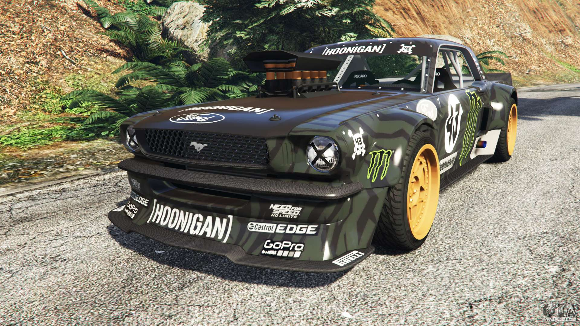 ford mustang 1965 hoonicorn drift add on for gta 5. Black Bedroom Furniture Sets. Home Design Ideas