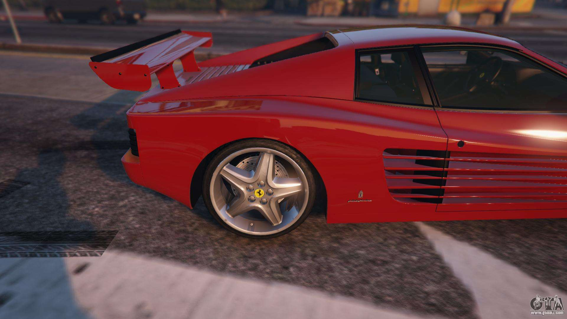 Ferrari testarossa 512 tr 1991 gta 5 for gta 5 gta 5 ferrari testarossa 512 tr 1991 gta 5 rear left side view vanachro Images