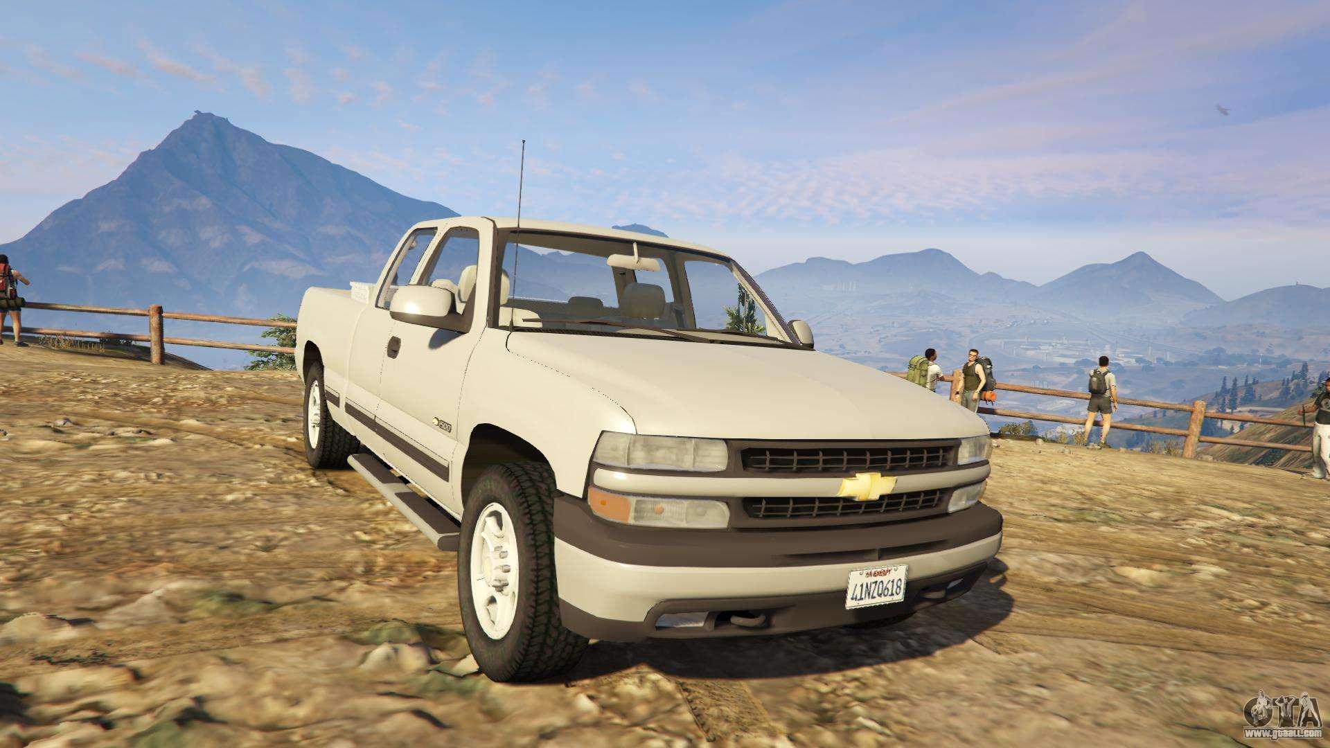 2000 Chevrolet Silverado 1500 >> 2000 Chevrolet Silverado 1500 for GTA 5