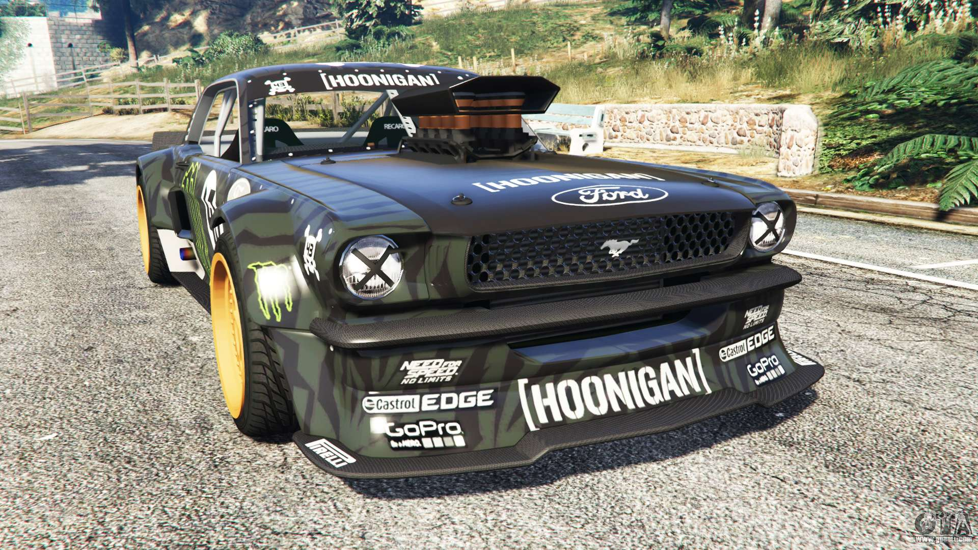 ford mustang 1965 hoonicorn add on for gta 5. Black Bedroom Furniture Sets. Home Design Ideas