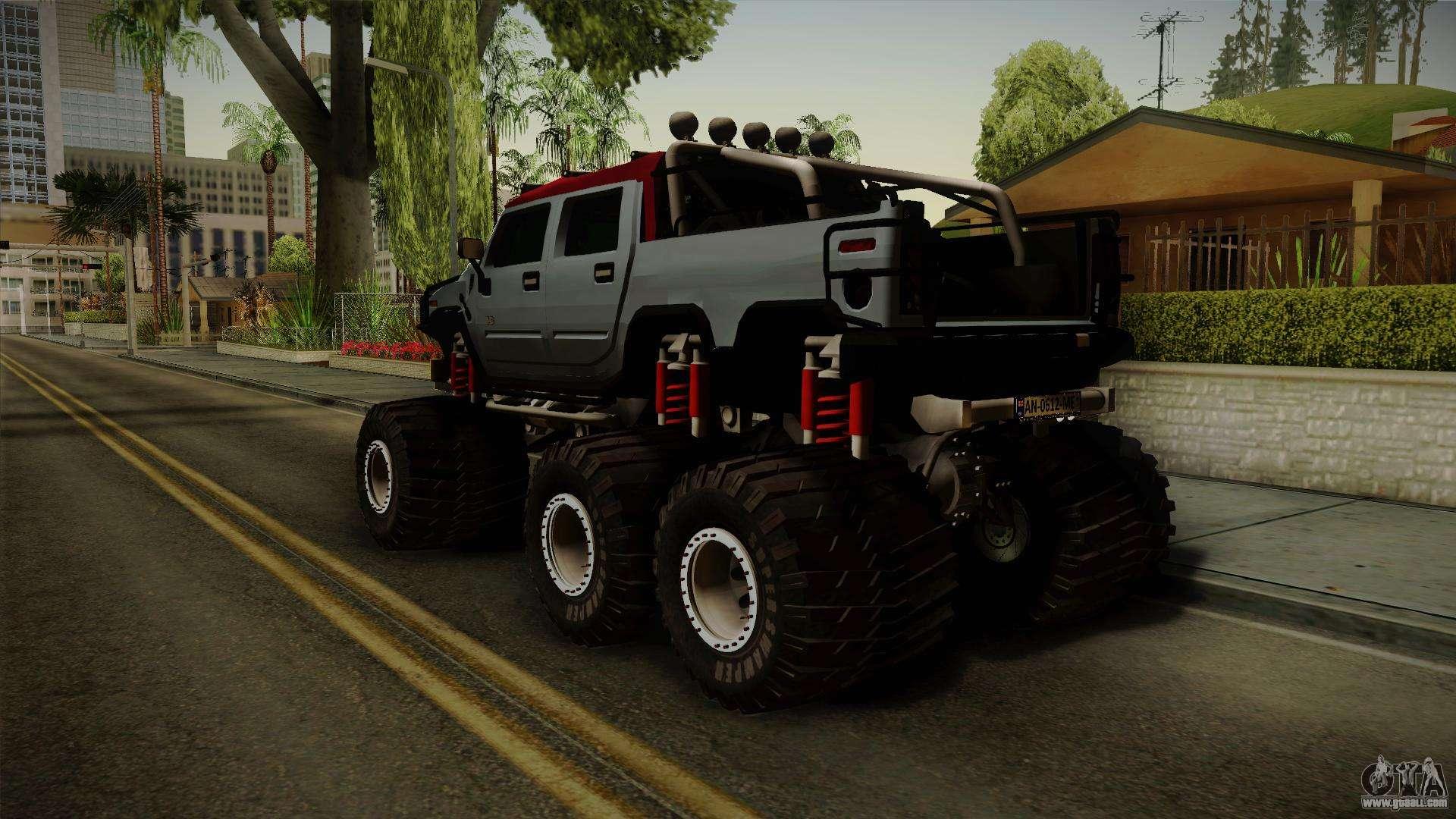 Gta Sa on Hummer H1