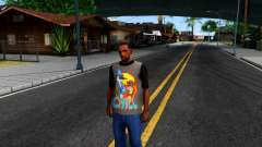 Regular Show T-shirt for GTA San Andreas