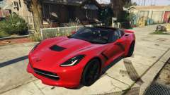 2014 Chevrolet Corvette C7 Stingray for GTA 5