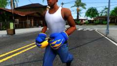 Blue With Flames Boxing Gloves Team Fortress 2 for GTA San Andreas