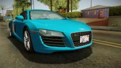 Audi R8 Coupe 4.2 FSI quattro US-Spec v1.0.0 v2 for GTA San Andreas