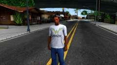 Weezer T-Shirt for GTA San Andreas