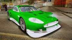 Aston Martin Racing DBR9 2005 v2.0.1 YCH Dirt for GTA San Andreas