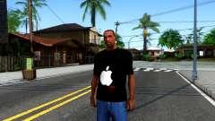 Apple T-shirt for GTA San Andreas
