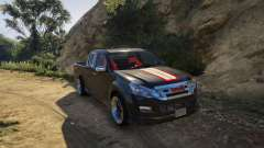 Isuzu D-Max X-Series 2015 for GTA 5