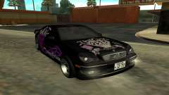 Mercedes C180 & Toyota Aristo for GTA San Andreas