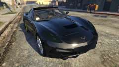 Drag Chevrolet Corvette C7 for GTA 5