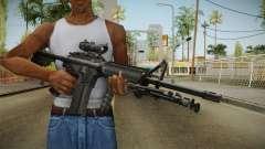M4A1 ACOG for GTA San Andreas