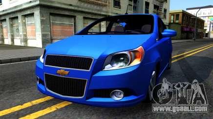 Chevrolet Aveo 2012 for GTA San Andreas