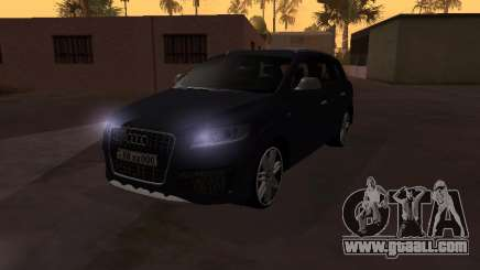 Audi Q7 Armenian for GTA San Andreas