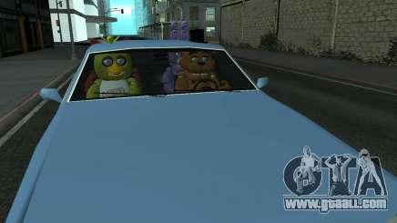 Five Nights At Freddys for GTA San Andreas