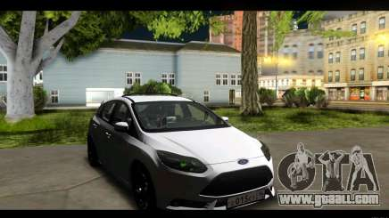 Ford Focus ST 2013 Training for GTA San Andreas