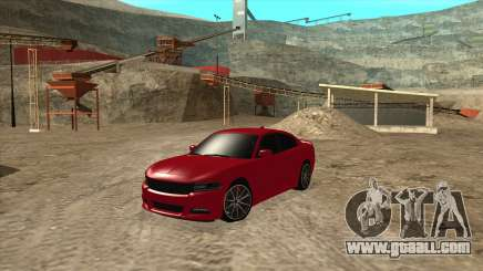Dodge Charger R/T 2015 for GTA San Andreas
