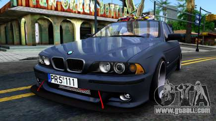 BMW e39 530d for GTA San Andreas