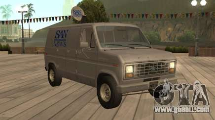Ford E150 News Van for GTA San Andreas