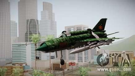 MIG-21 Norvietnamita for GTA San Andreas
