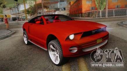 Ford Mustang 2005 for GTA San Andreas