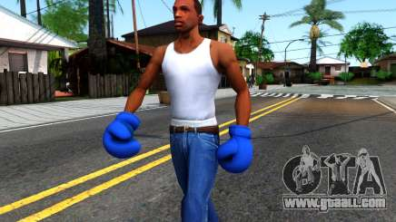 Blue Boxing Gloves Team Fortress 2 for GTA San Andreas