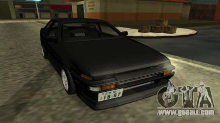 Toyota Corolla Levin (AE86) for GTA San Andreas