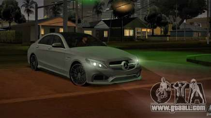 Mercedes-Benz C63 AMG W205 for GTA San Andreas