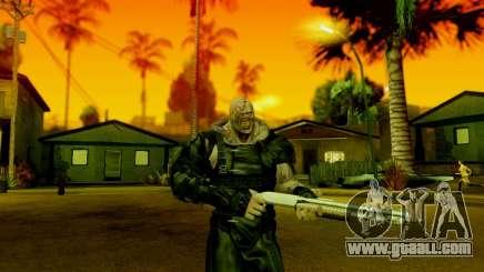 Resident Evil ORC - Nemesis for GTA San Andreas