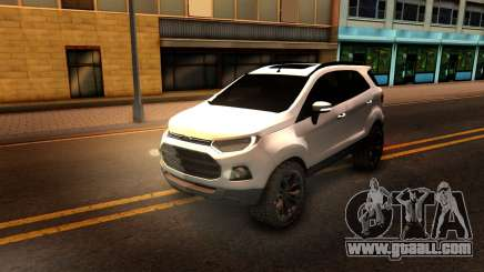 Ford EcoSport 2016 for GTA San Andreas