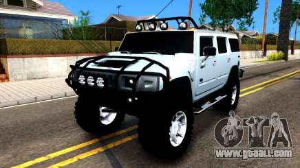 Hummer H2 for GTA San Andreas
