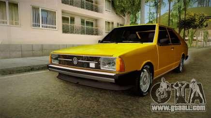 Volkswagen Passat 1981 for GTA San Andreas