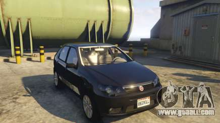 Fiat Palio Way Brasil 2015 for GTA 5