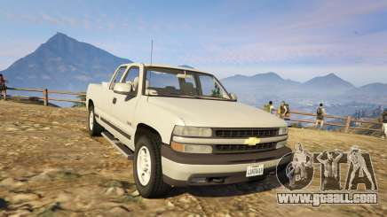 2000 Chevrolet Silverado 1500 for GTA 5