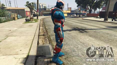 GTA 5 Iron Man Patriot