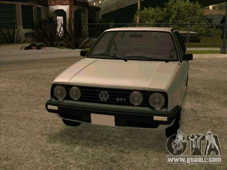 Volkswagen Golf 2 GTI for GTA San Andreas left view