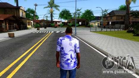 New Hawaii Shirt for GTA San Andreas third screenshot