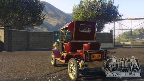 GTA 5 Ford T 12 model 1 rear left side view