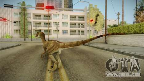 Primal Carnage Velociraptor Classic for GTA San Andreas third screenshot