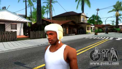Winter Bomber Hat From The Sims 3 for GTA San Andreas second screenshot