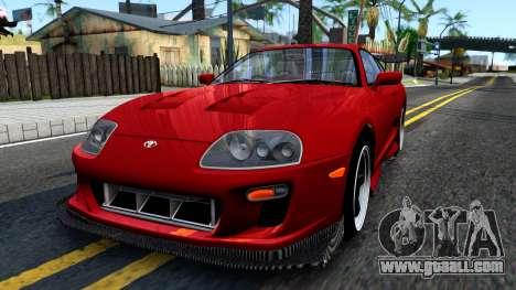 Toyota Supra Mk.IV A80 for GTA San Andreas