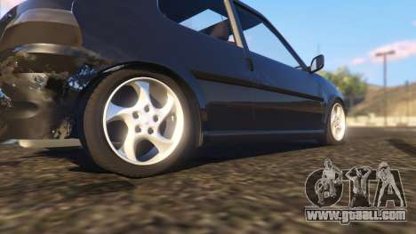 GTA 5 Peugeot 106 rear right side view