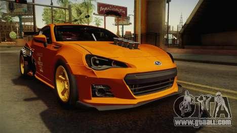 Subaru BRZ 2013 Rocket Bunny for GTA San Andreas