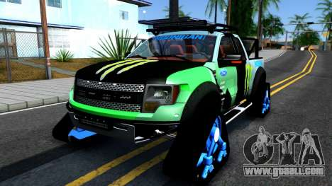 Ford F-150 SVT RaptorTRAX 2012 Ken Block for GTA San Andreas