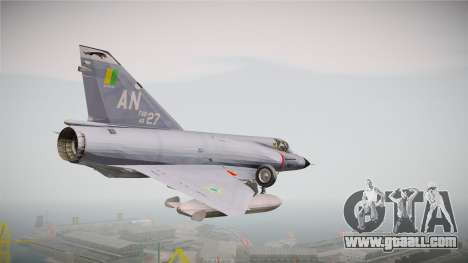 EMB Dassault Mirage III FAB for GTA San Andreas right view
