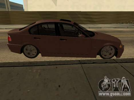 BMW 320i Armenian for GTA San Andreas left view