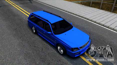 Nissan Stagea WC34 for GTA San Andreas right view