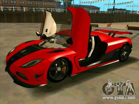 Koenigsegg Agera R NFS for GTA San Andreas