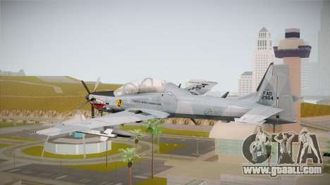 Embraer-314 Super Tucano for GTA San Andreas right view