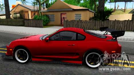 Toyota Supra Mk.IV A80 for GTA San Andreas left view